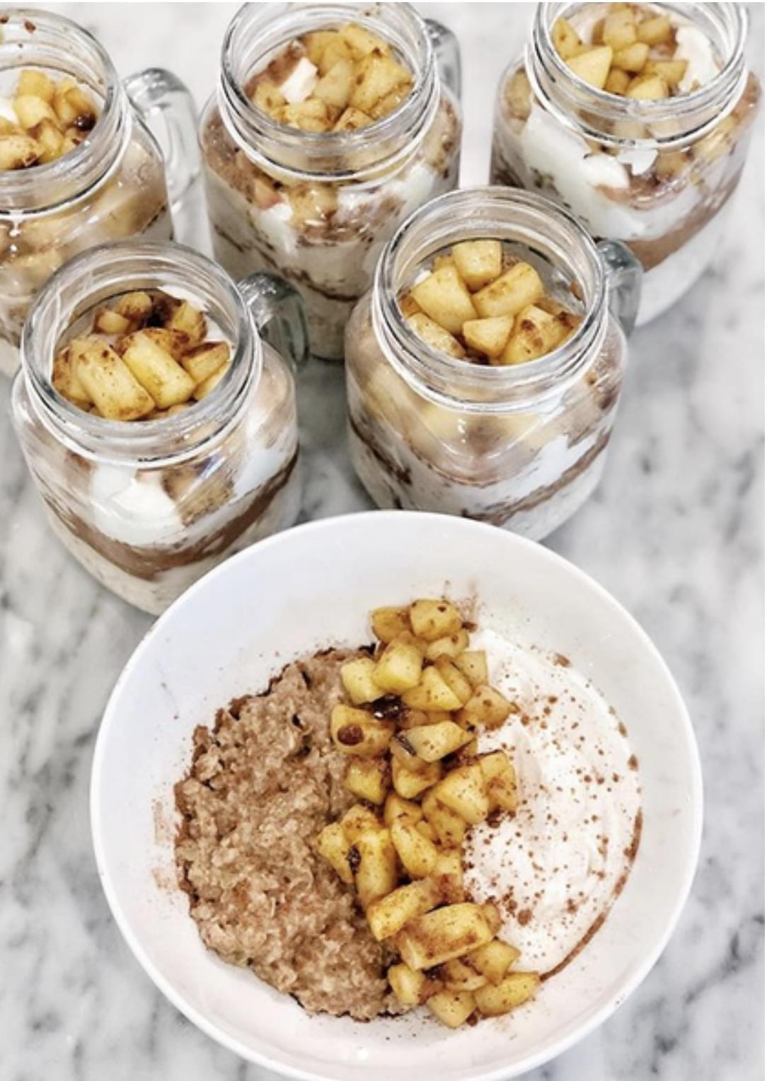 RECIPE: Apple Pie Overnight Oats