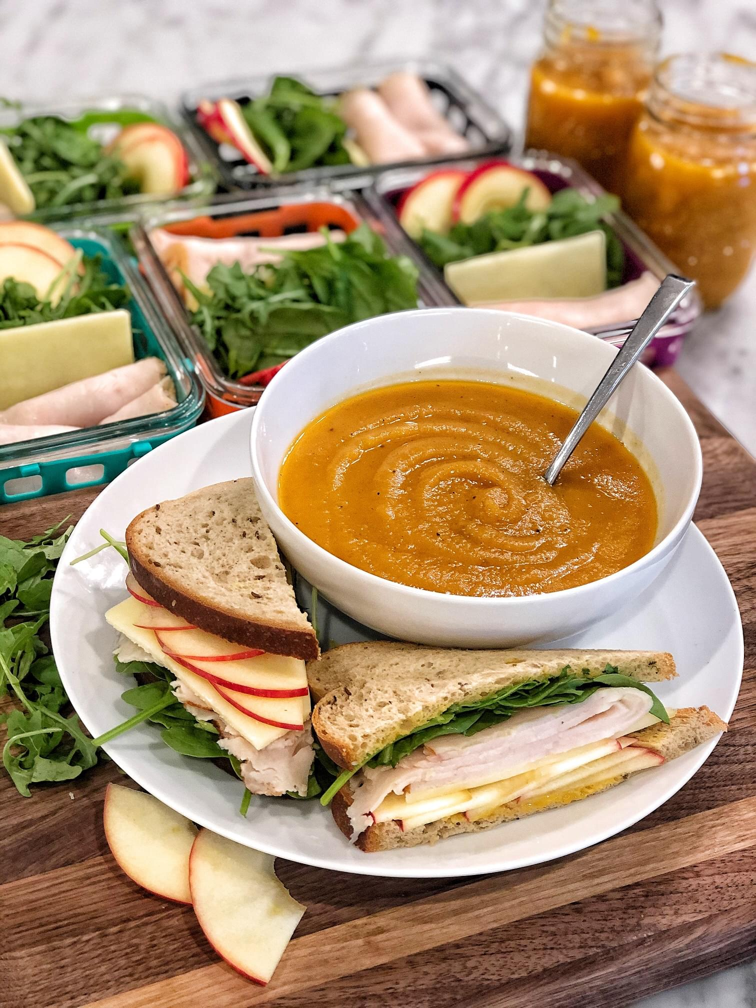Autumn Soup & Sammie