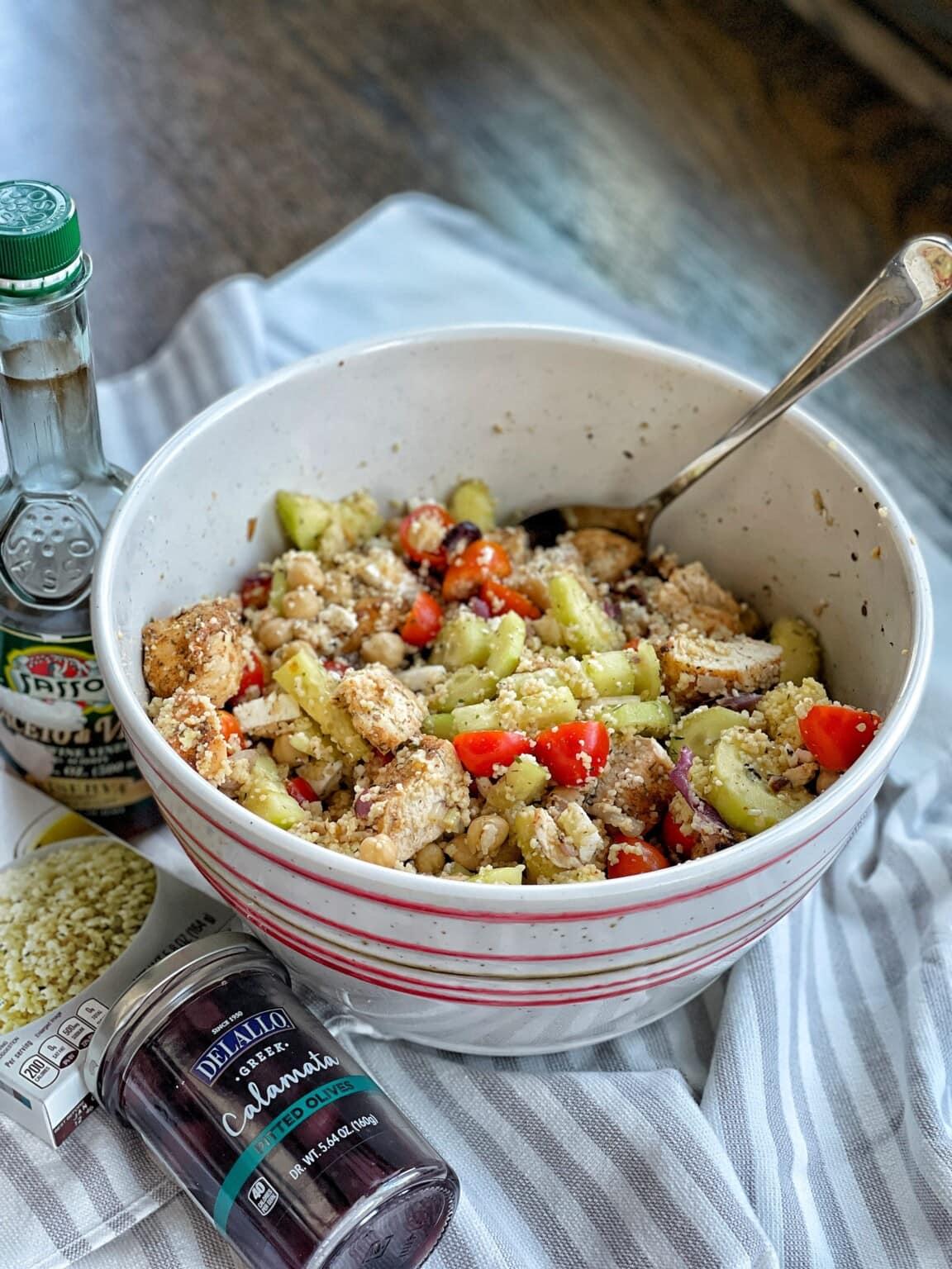 Greek Protein & Grain Bowls
