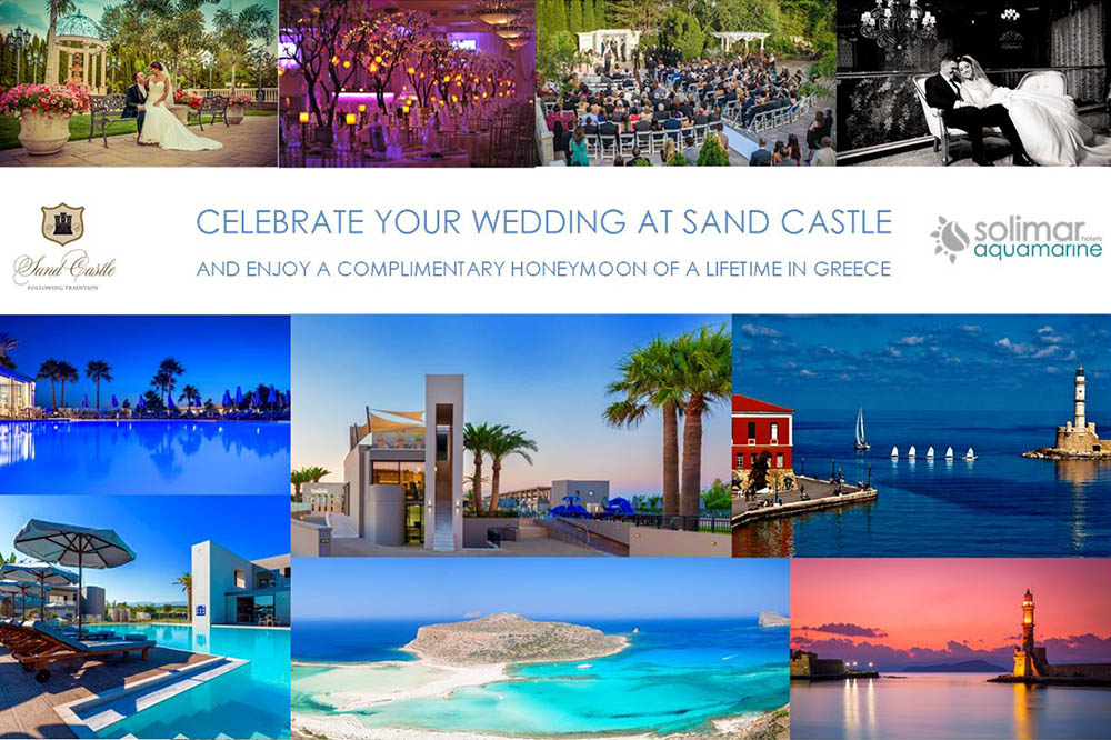 Celebrate your wedding at Sand Castle