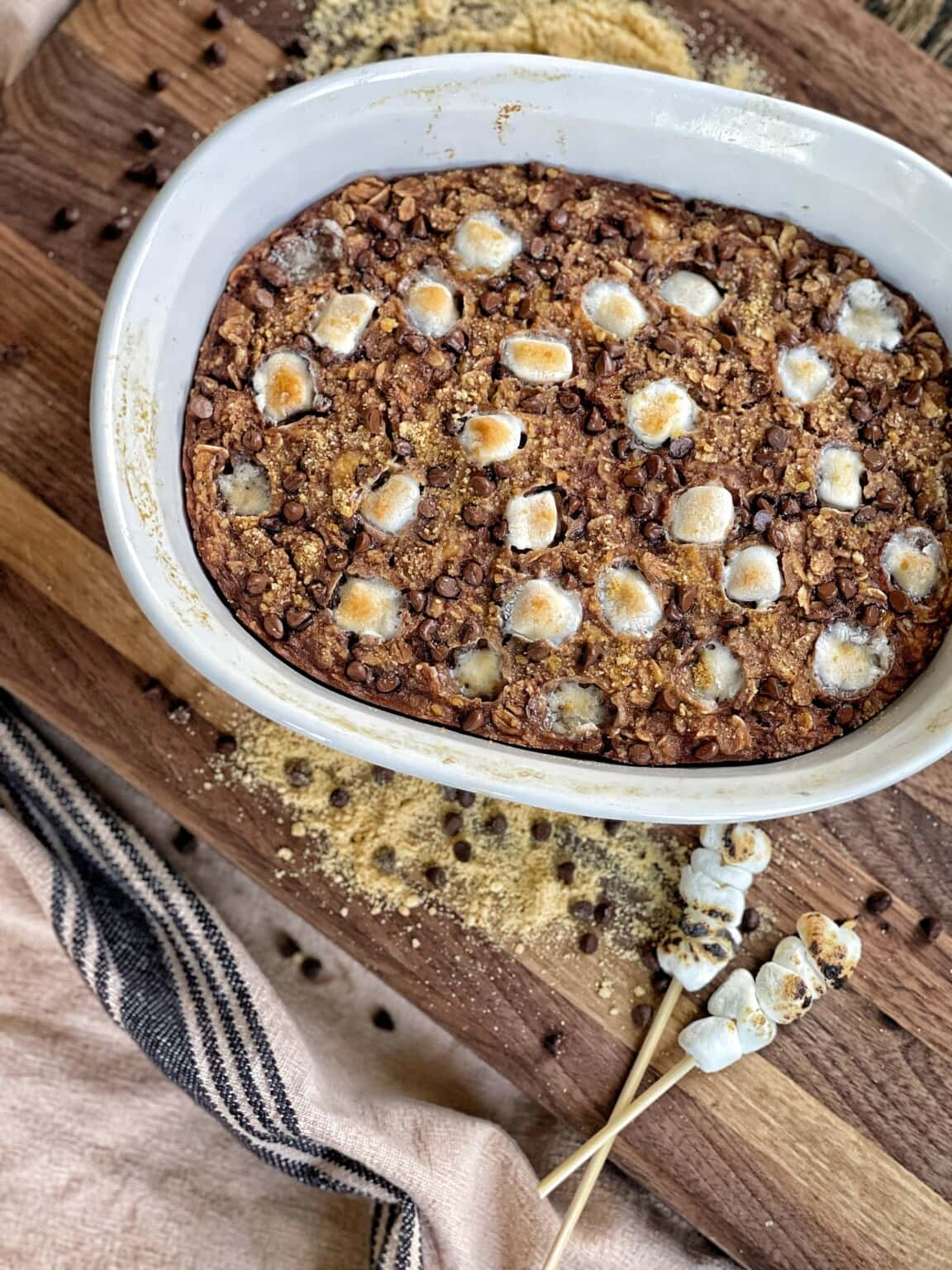 Outrageous Baked Oatmeal