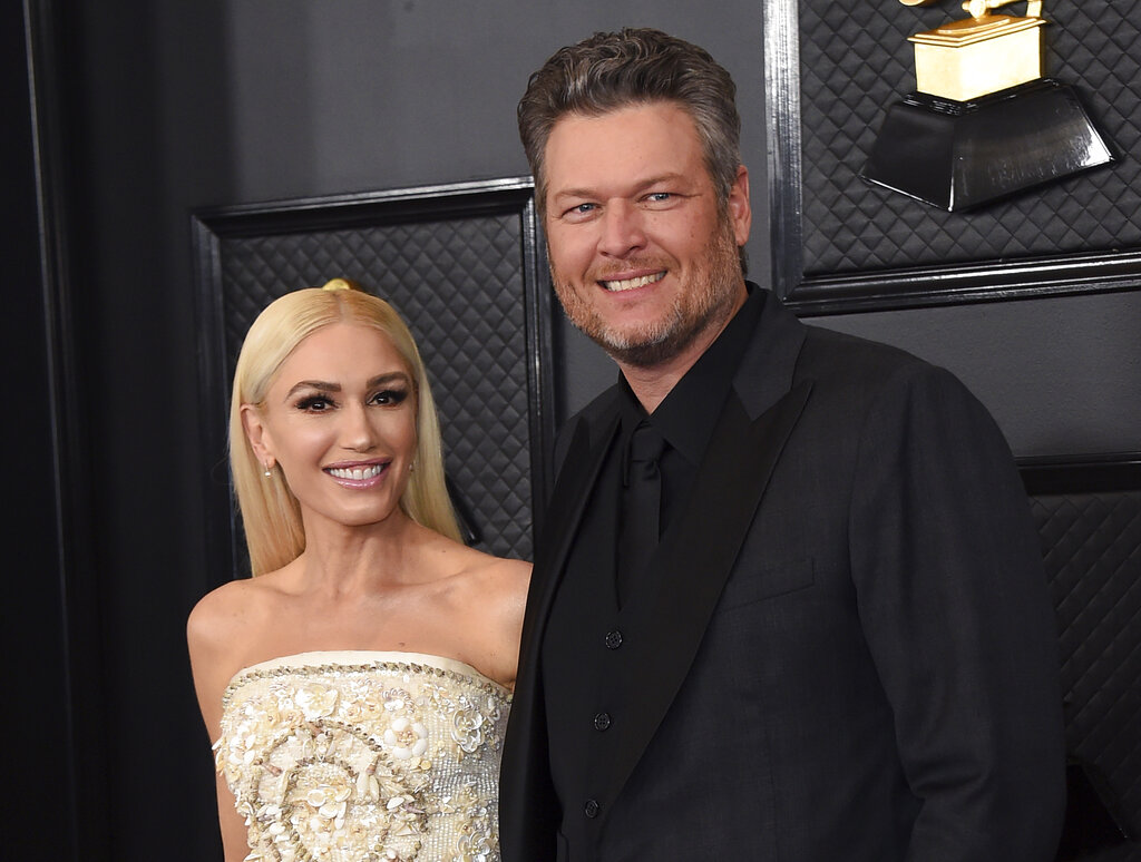 Gwen Stefani & Blake Shelton Married