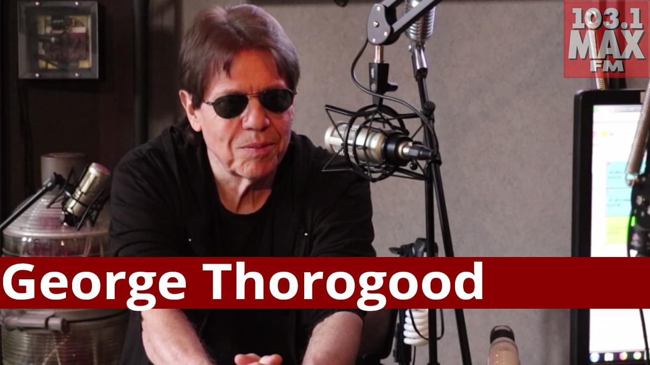 George Thorogood sits with Ralph in The Studio!