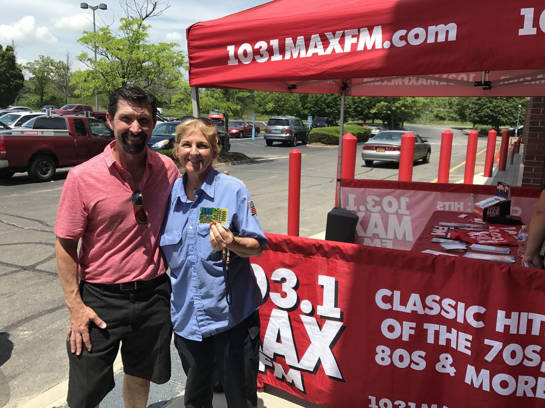 103.1 MAX FM at Hobby Lobby