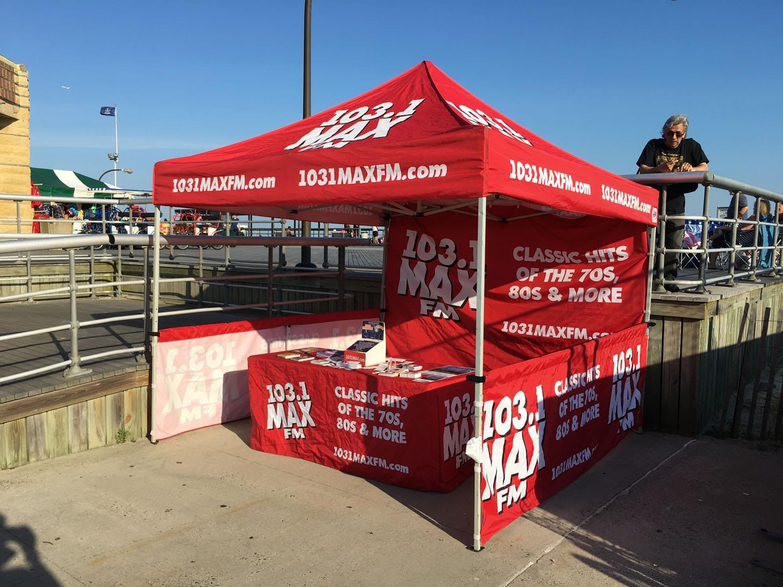 103.1 MAX FM at Jones Beach Banshell