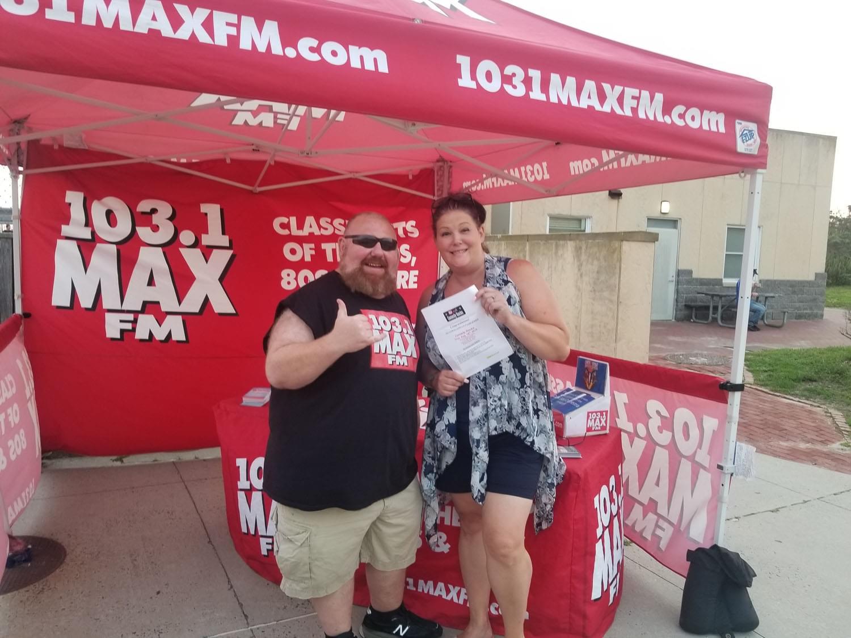 103.1 MAX FM at Jones Beach Bandshell