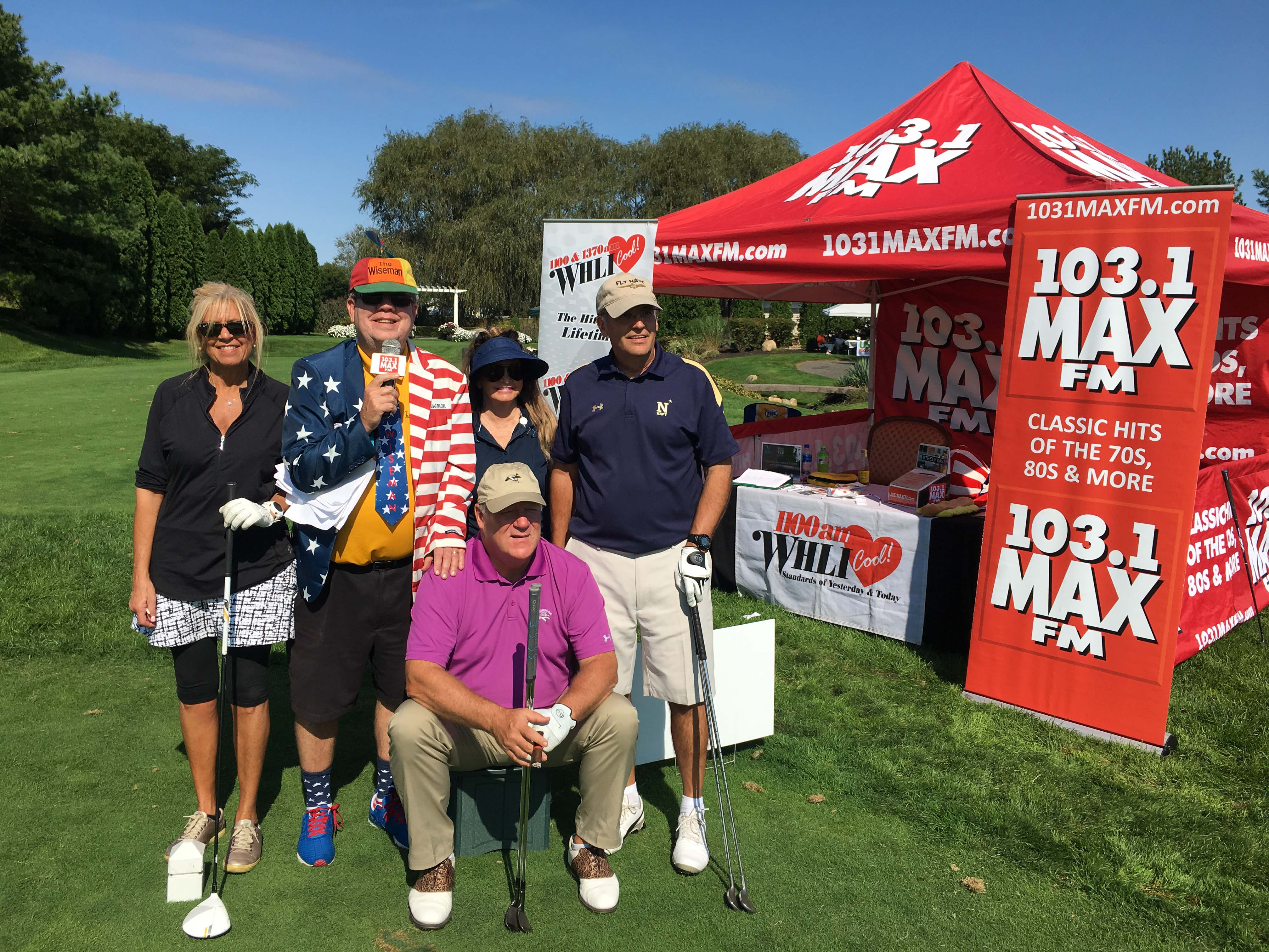 103.1 MAX FM/ 1100 WHLI Golf Outing!