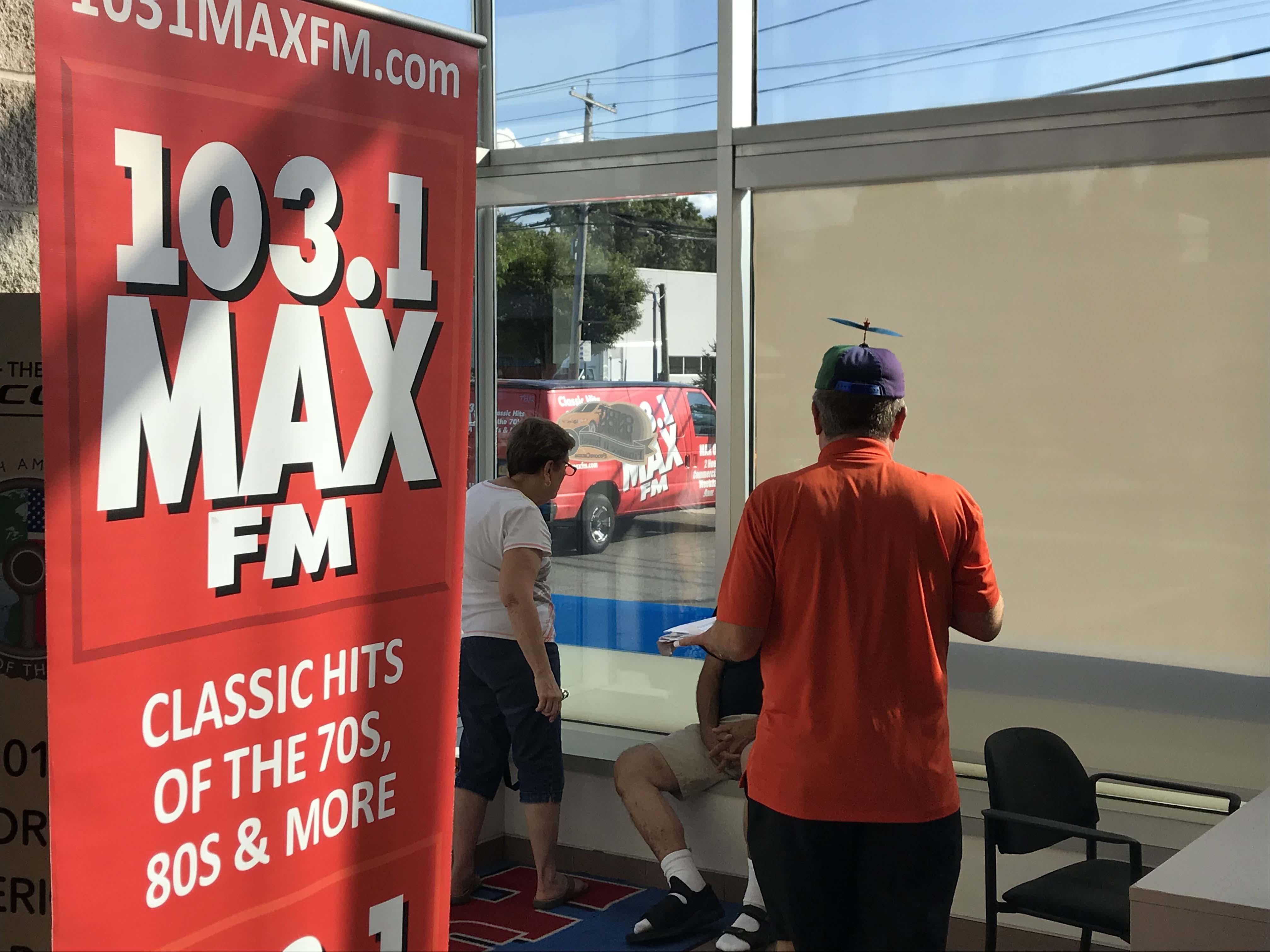 103.1 MAX FM at Huntington Honda