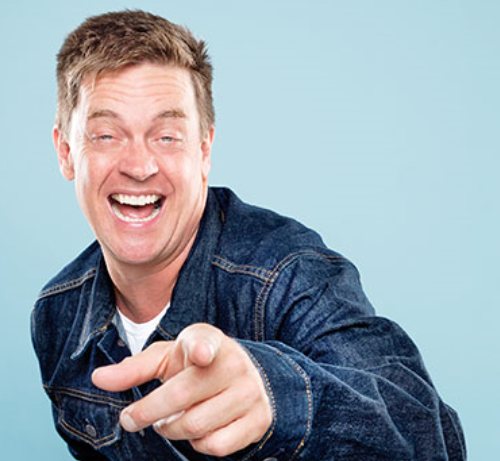 The guy who knows the answers is comedian Jim Breuer.