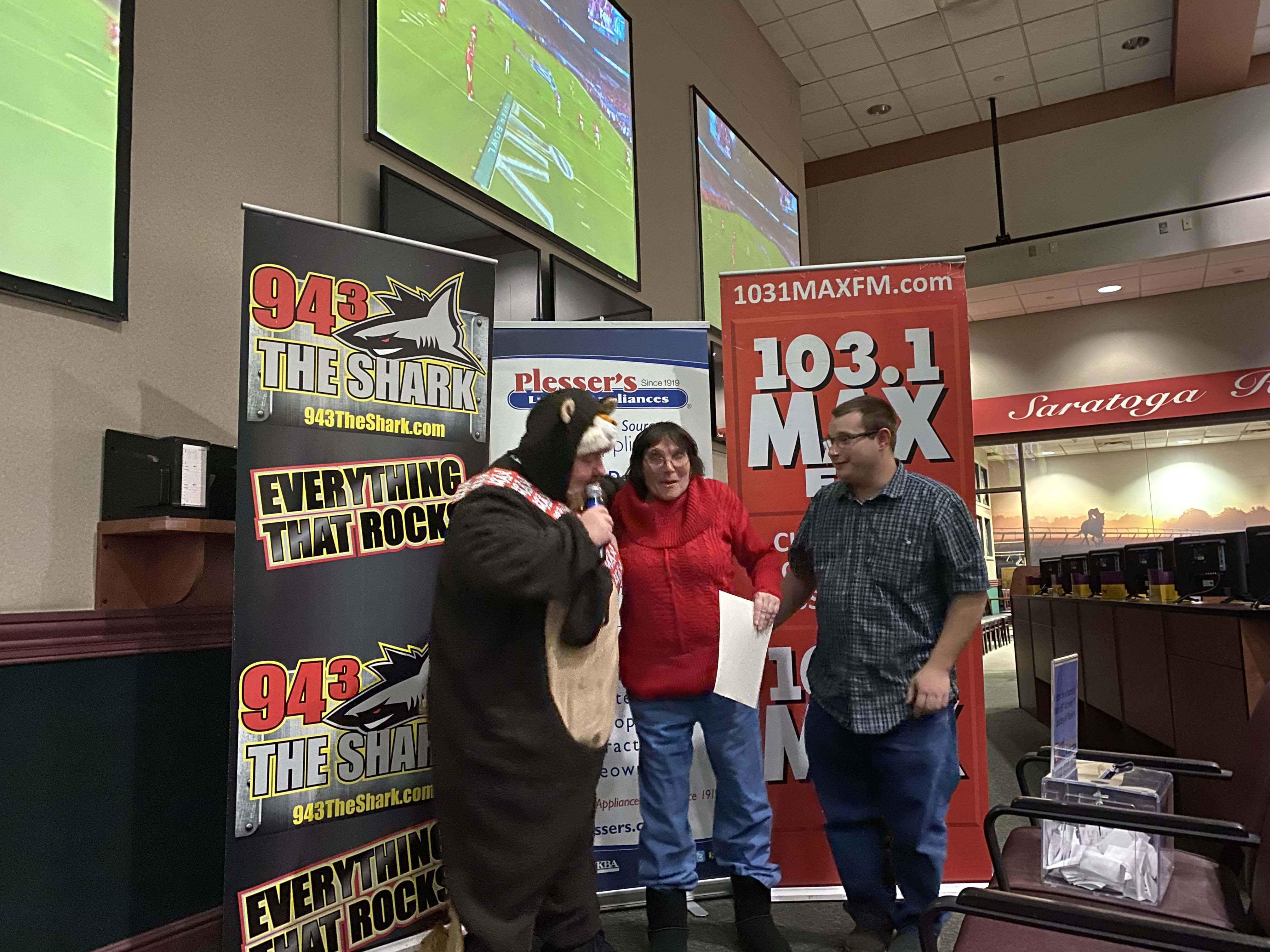 """94.3 The Shark & 103.1 MAX FM's """"Big Game Party""""!"""