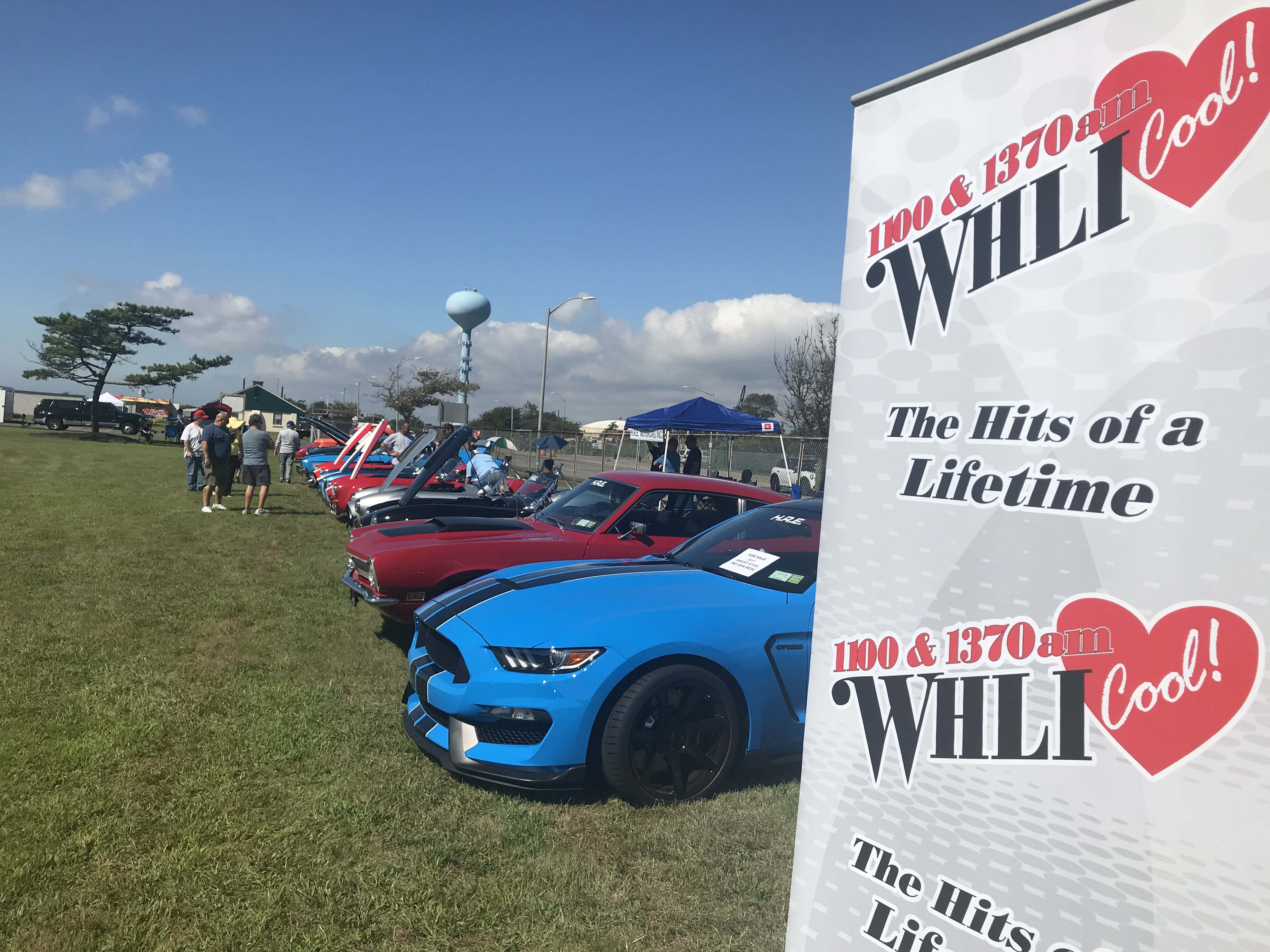 WHLI at TOH Annual Car Show