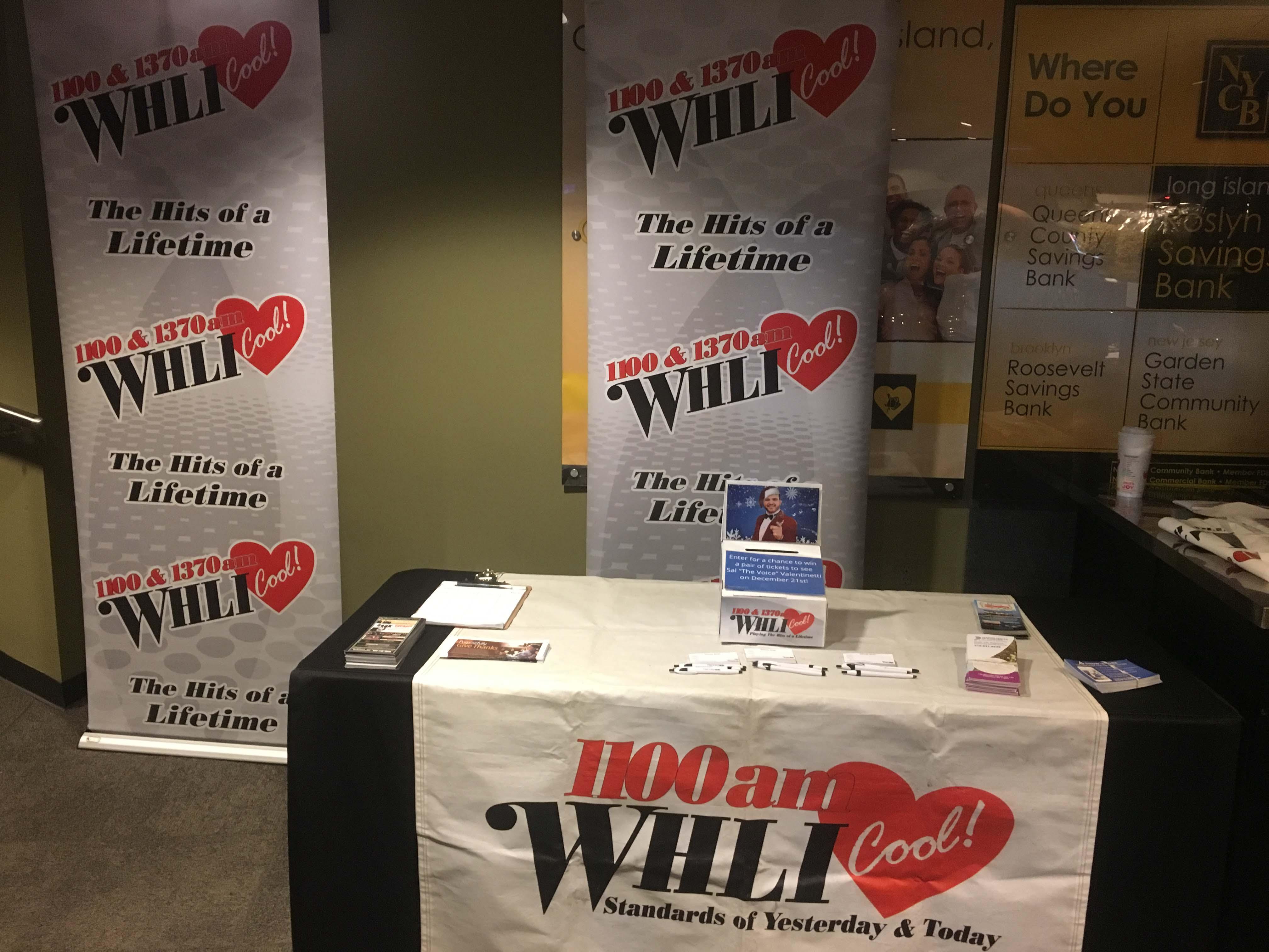 1100 WHLI at Tony Orlando at NYCB Westbury