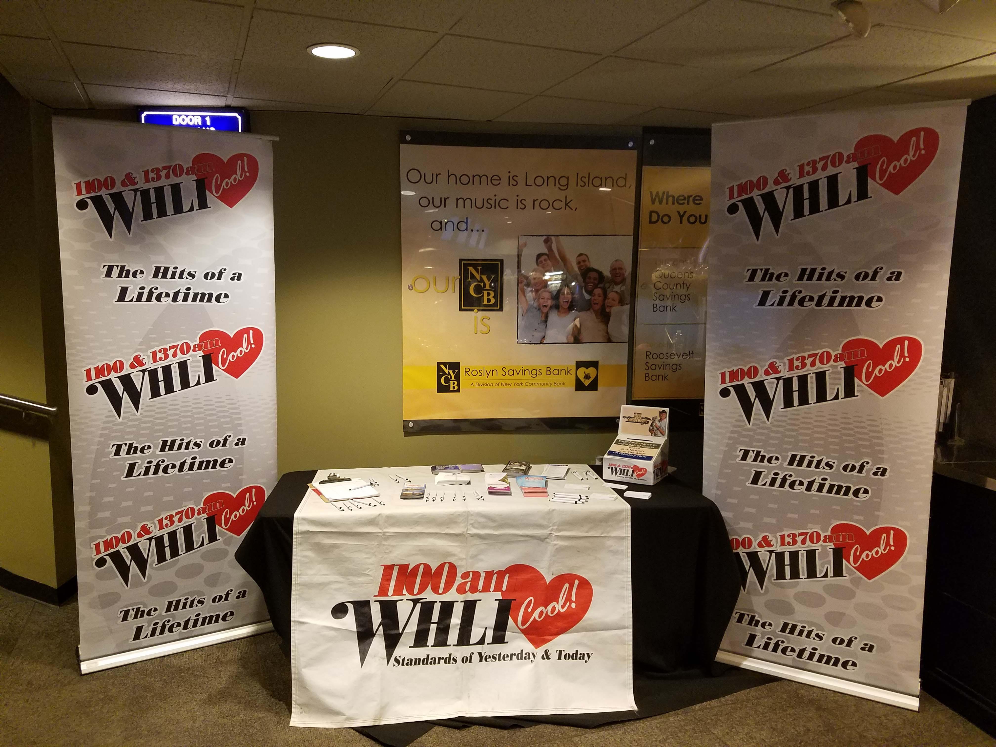 WHLI at The Sal Valentinetti Concert at NYCB at Westbury
