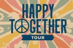 Happy Together Tour 2020!   Featuring: The Turtles, Chuck Negron (formerly of Three Dog Night), The Association, Mark Lindsay (formerly of Paul Revere & The Raiders ), The Vogues, and The Cowsills