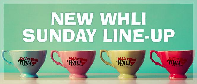 New WHLI Sunday Line-Up