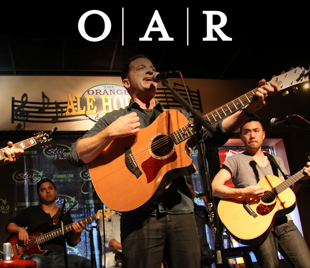 Star 99.9 Acoustic Session:  O.A.R.