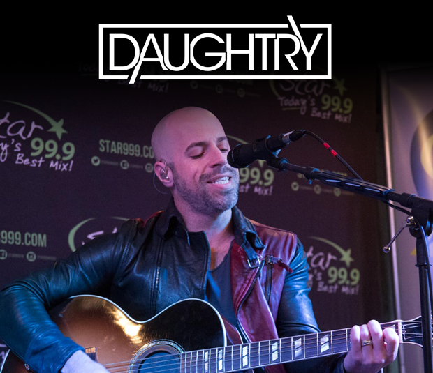 Star 99.9 Michaels Jewelers Acoustic Session: Daughtry