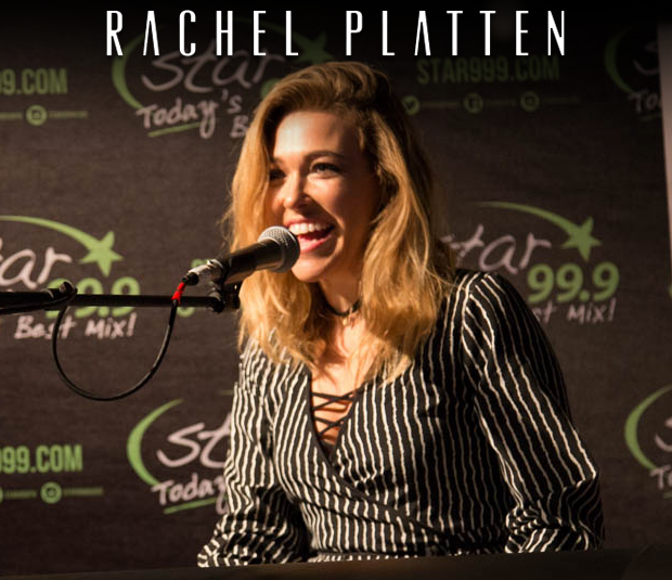 Star 99.9 Michaels Jewelers Acoustic Session: Rachel Platten