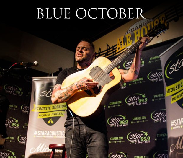 Star 99.9 Michaels Jewelers Acoustic Session: Blue October