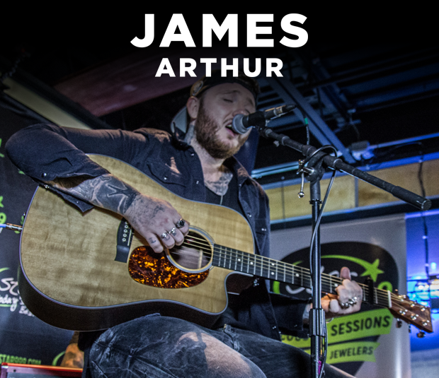 Star 99.9 Michaels Jewelers Acoustic Session: James Arthur