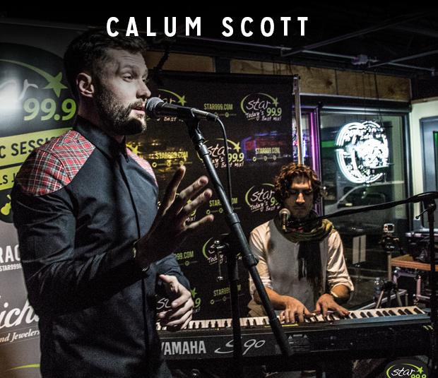 Star 99.9 Michaels Jewelers Acoustic Session: Calum Scott