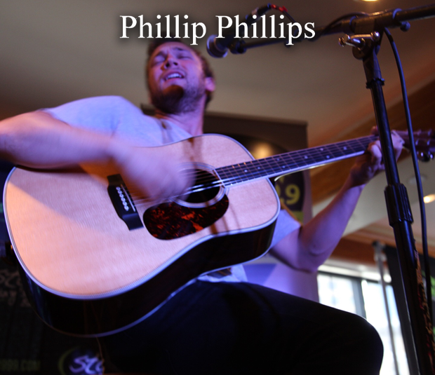 Star 99.9 Michaels Jewelers Acoustic Session: Phillip Phillips