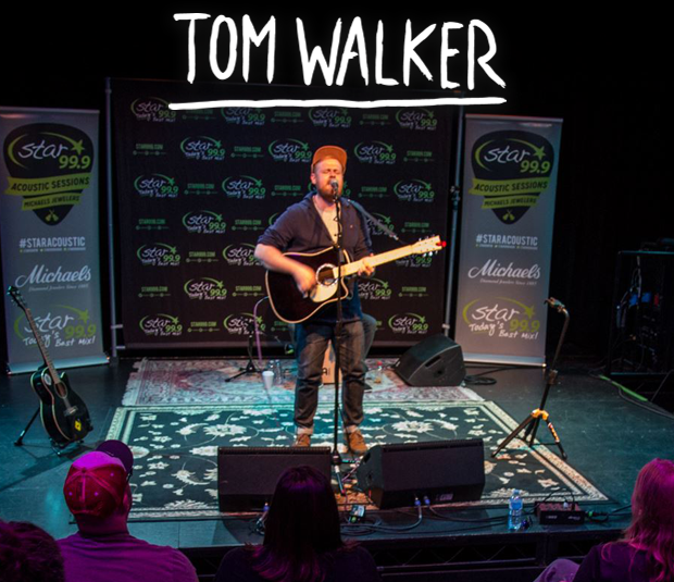Star 99.9 Michaels Jewelers Acoustic Session: Tom Walker