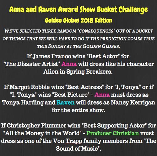 Anna & Raven Award Show Bucket Challenge: Golden Globes