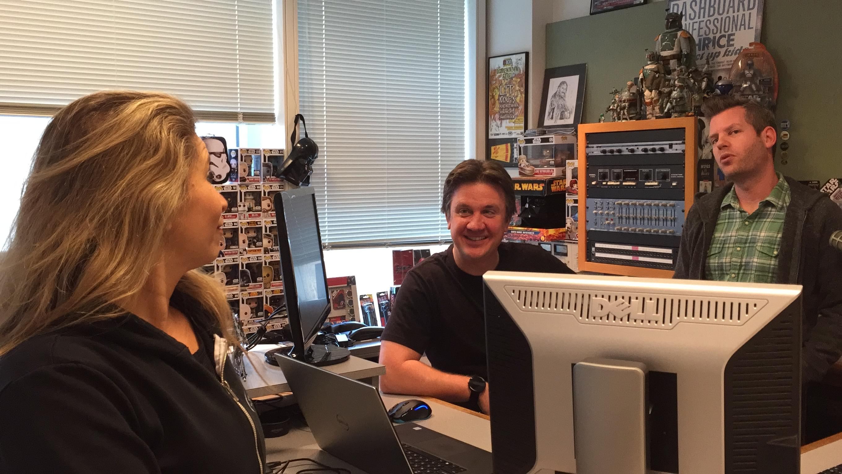 60 Seconds Behind the Scenes- It's National Compliment Day at STAR 99.9!