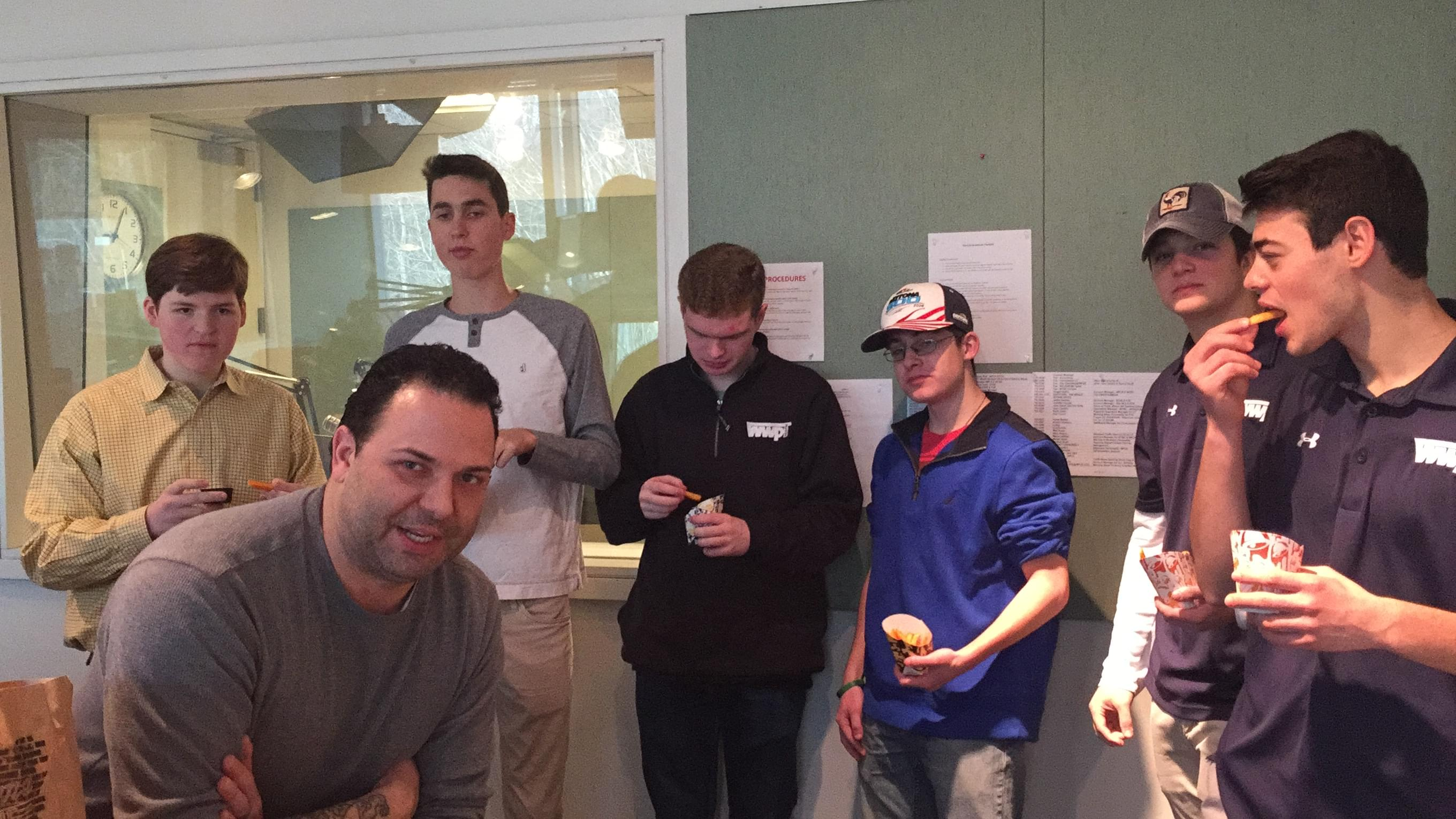 60 Seconds Behind the Scenes- The best high school radio station in the country and french fries!