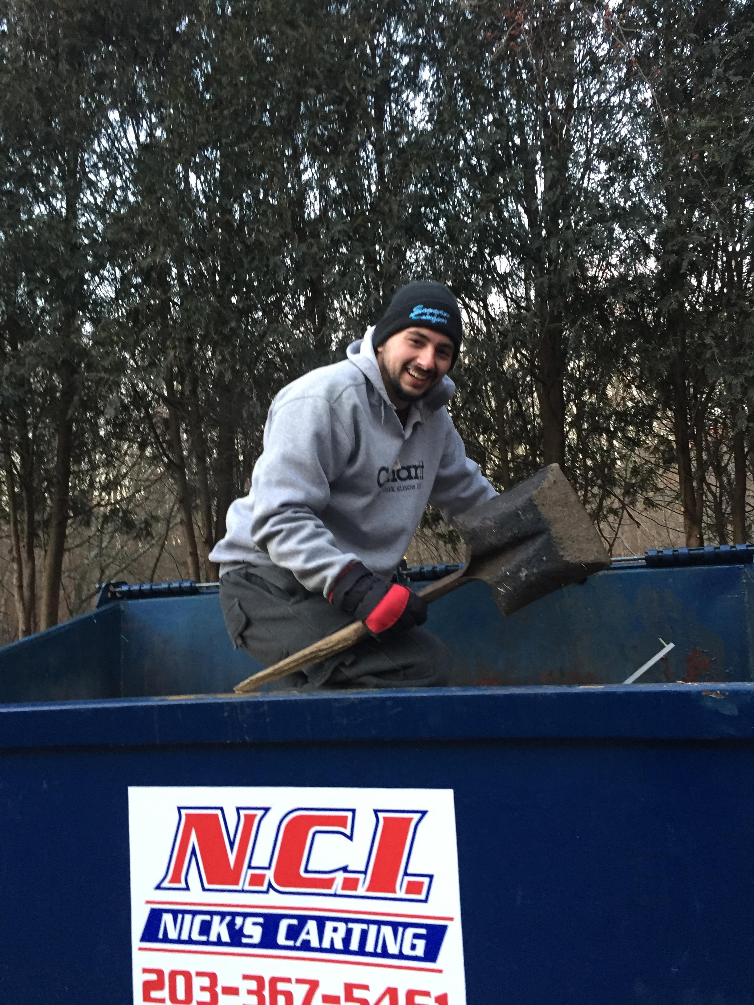 60 Seconds Behind The Scenes- Producer Christian goes dumpster diving for treasure!