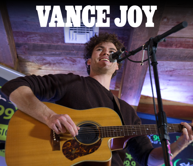 Star 99.9 Michaels Jewelers Acoustic Session: Vance Joy