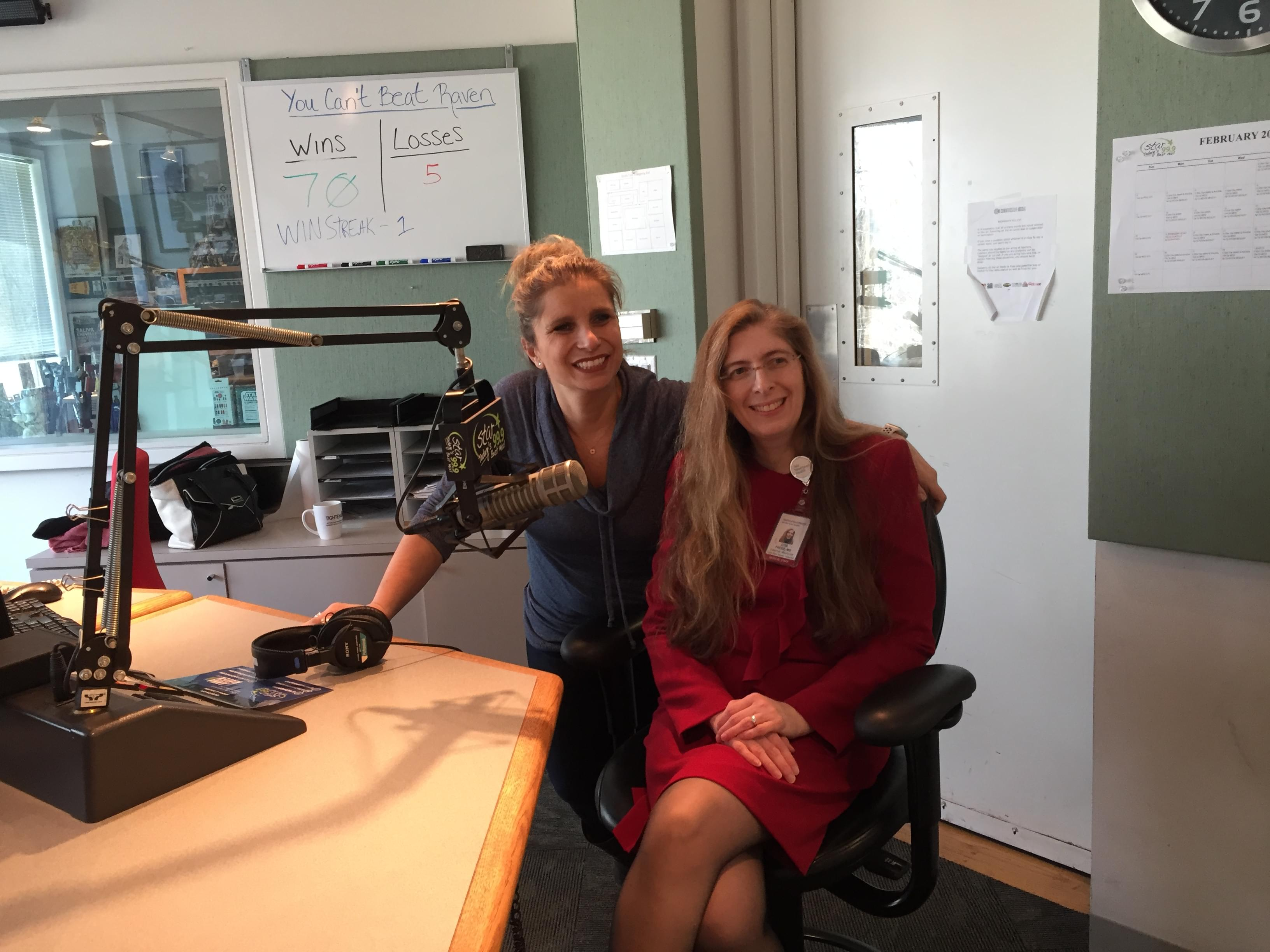 60 Seconds Behind the Scenes- Dr Lisa Freed talks women's health!
