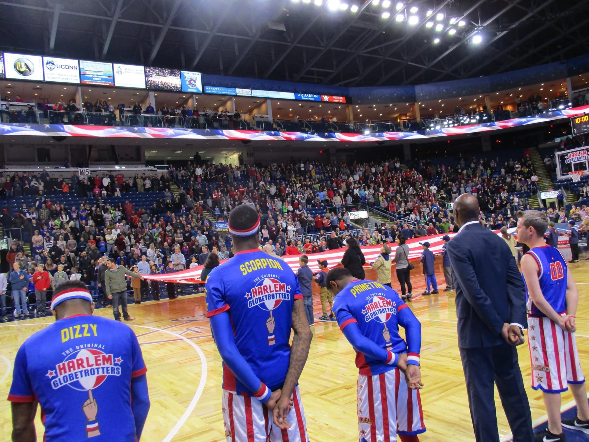 Harlem Globetrotters at the Webster Bank Arena