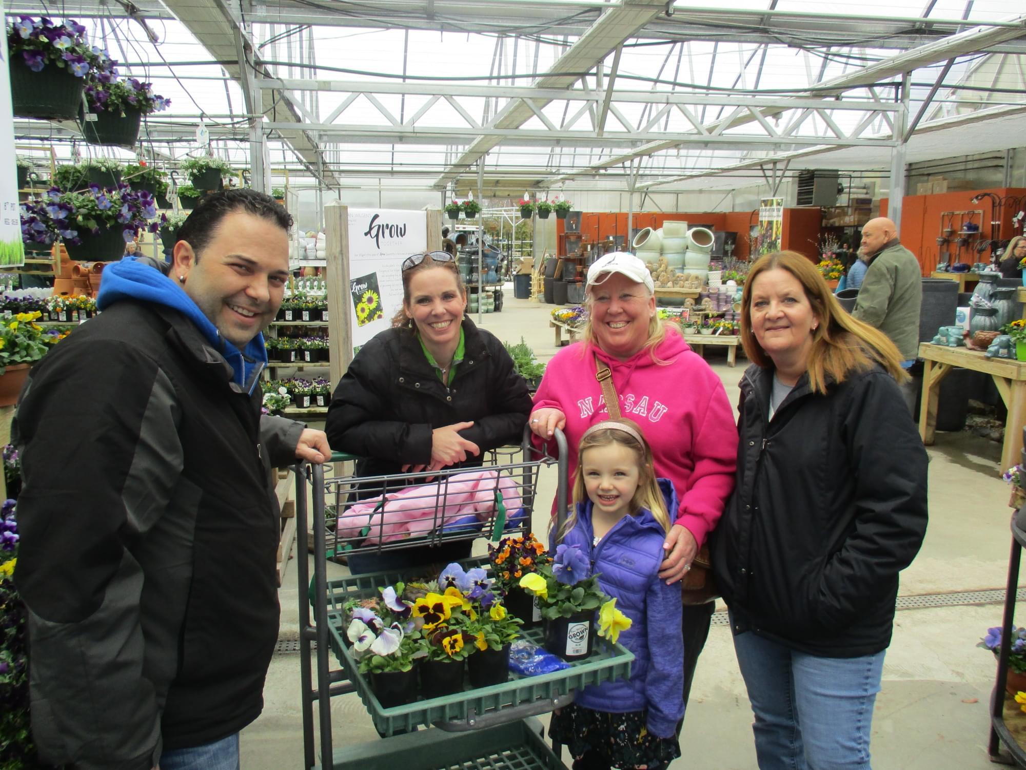Van Wilgen's Garden Center Pansy Party 2018