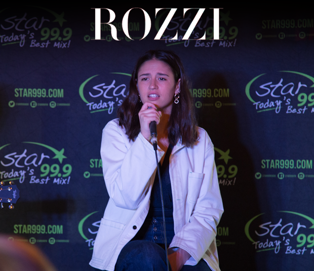 Star 99.9 Michaels Jewelers Acoustic Session with Rozzi