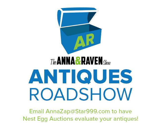 Anna & Raven's Antiques Roadshow