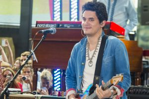 "John Mayer in Concert on NBC's ""Today Show"" at Rockefeller Center in New York City on July 5, 2013"