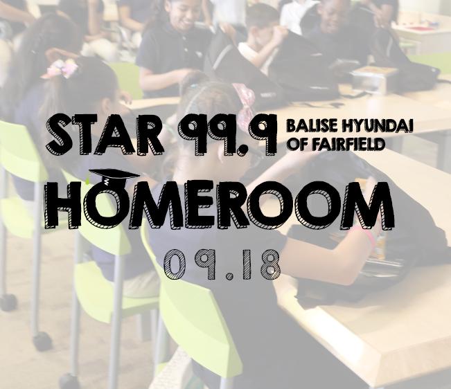 Star 99.9 Balise Hyundai of Fairfield Homeroom: September