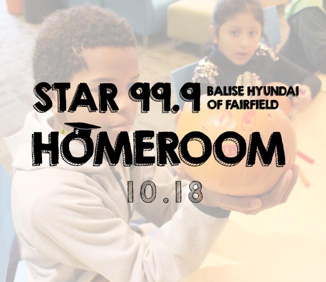 Star 99.9 Balise Hyundai of Fairfield Homeroom – October 2018