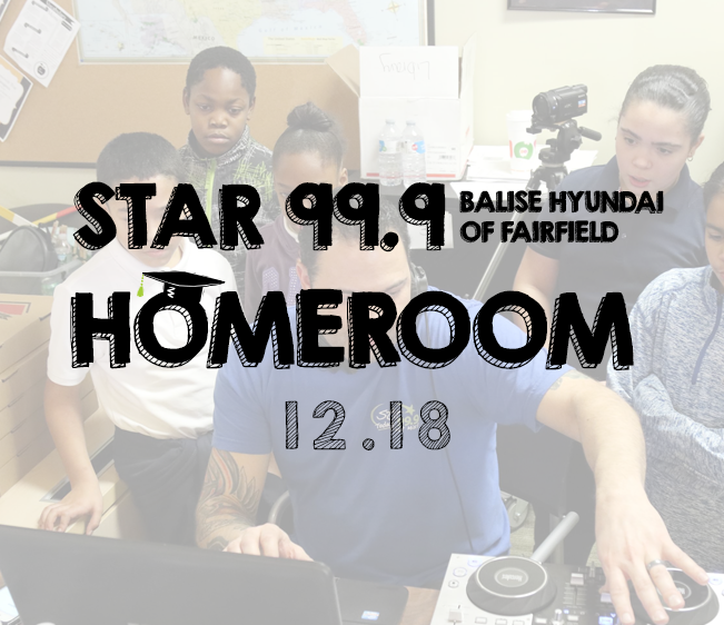 Star 99.9 Balise Hyundai of Fairfield Homeroom: December 2018