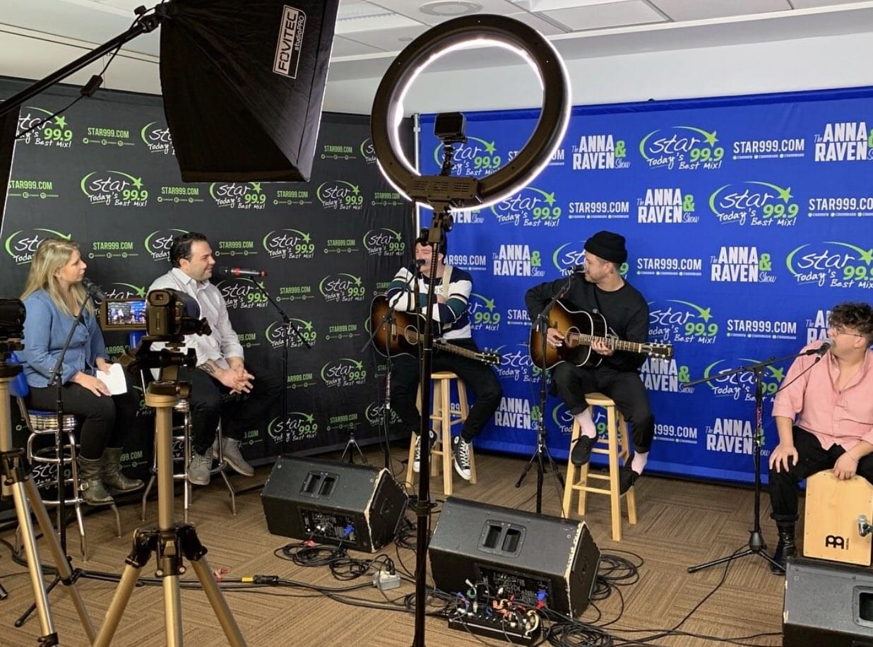 WATCH: Lovelytheband stopped by the Star studios today