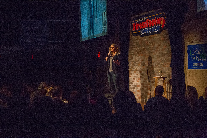 Anna & Raven Women in Comedy Performance Pics