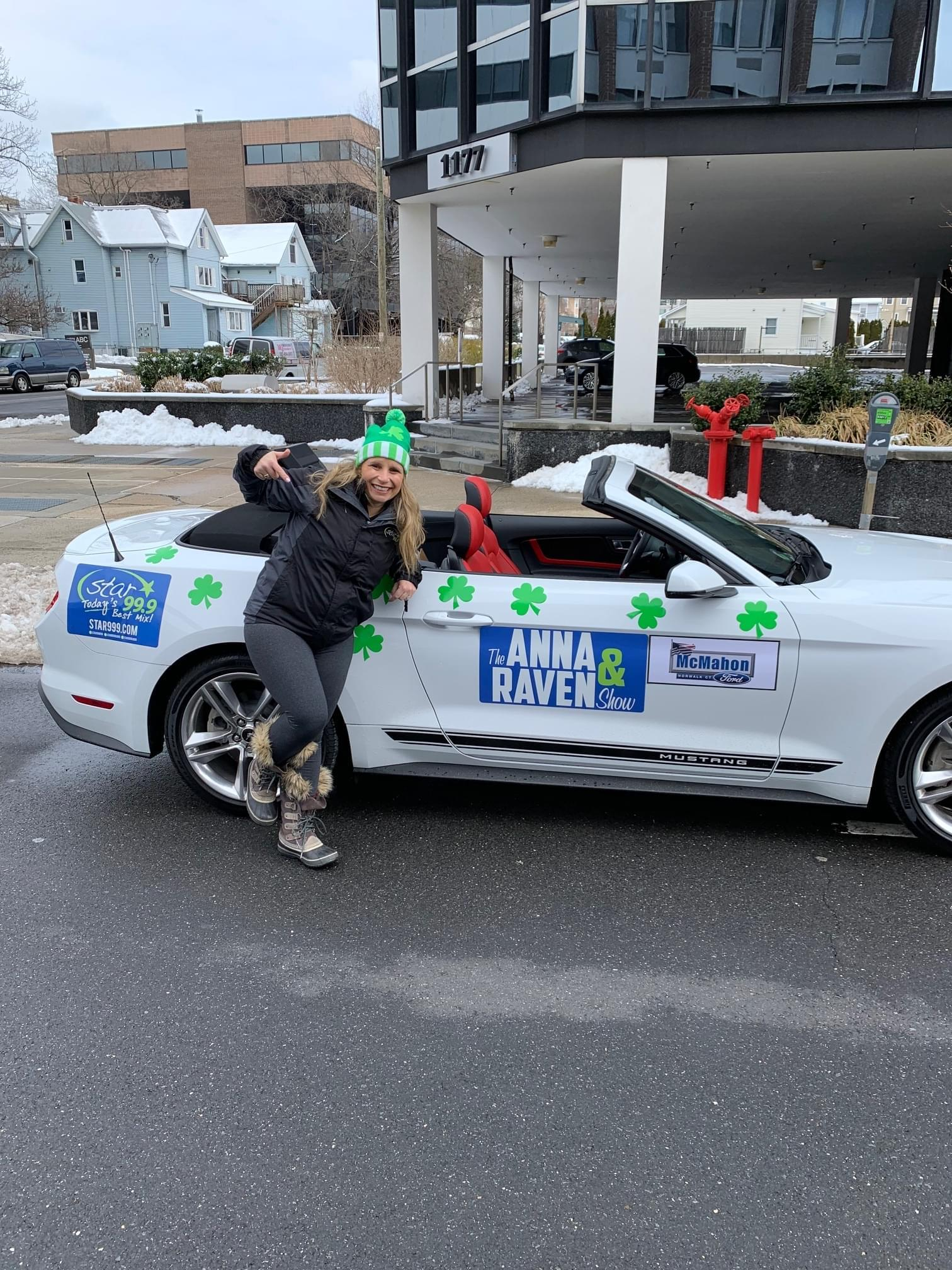Star 99.9 at St. Patrick's Day Parades all March!