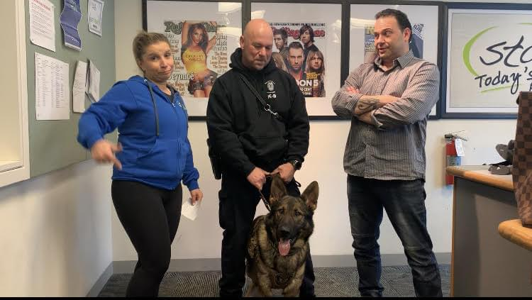60 Seconds Behind the Scenes- Jake the K9 and Sgt. Hector Irizarry