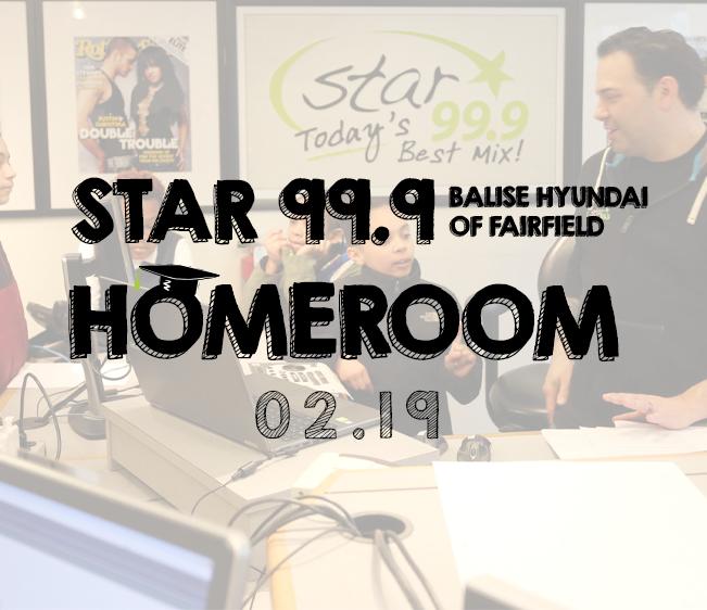 Star 99.9 Balise Hyundai of Fairfield Homeroom: Studio visit