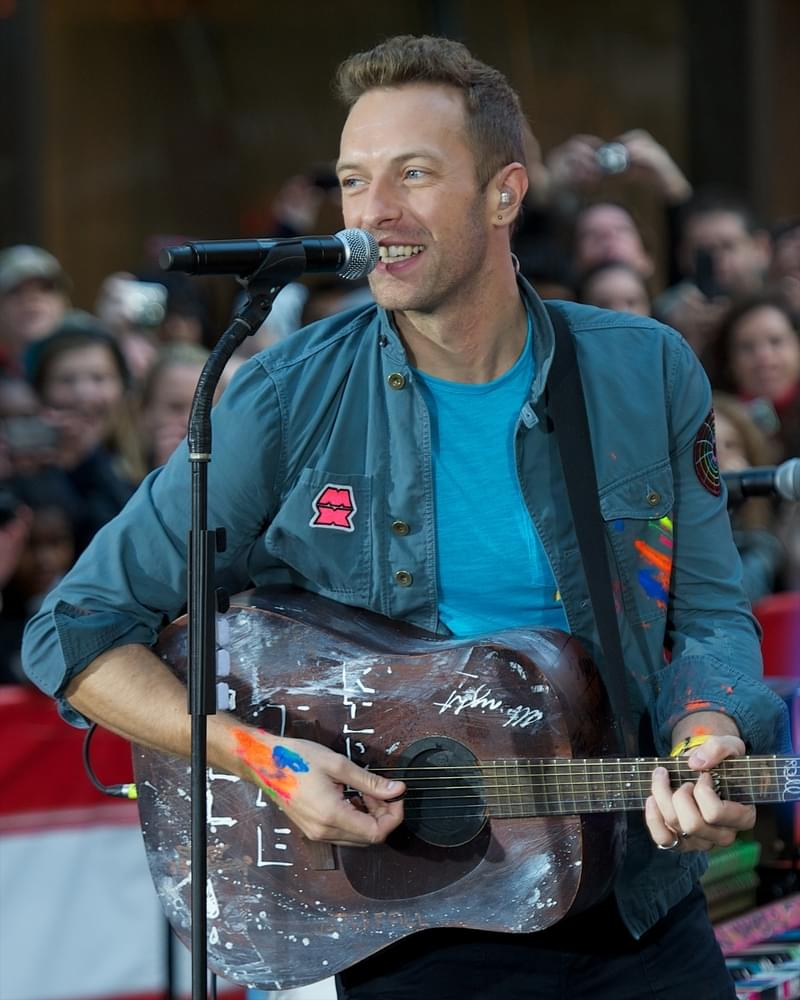 Today's STAR- Coldplay