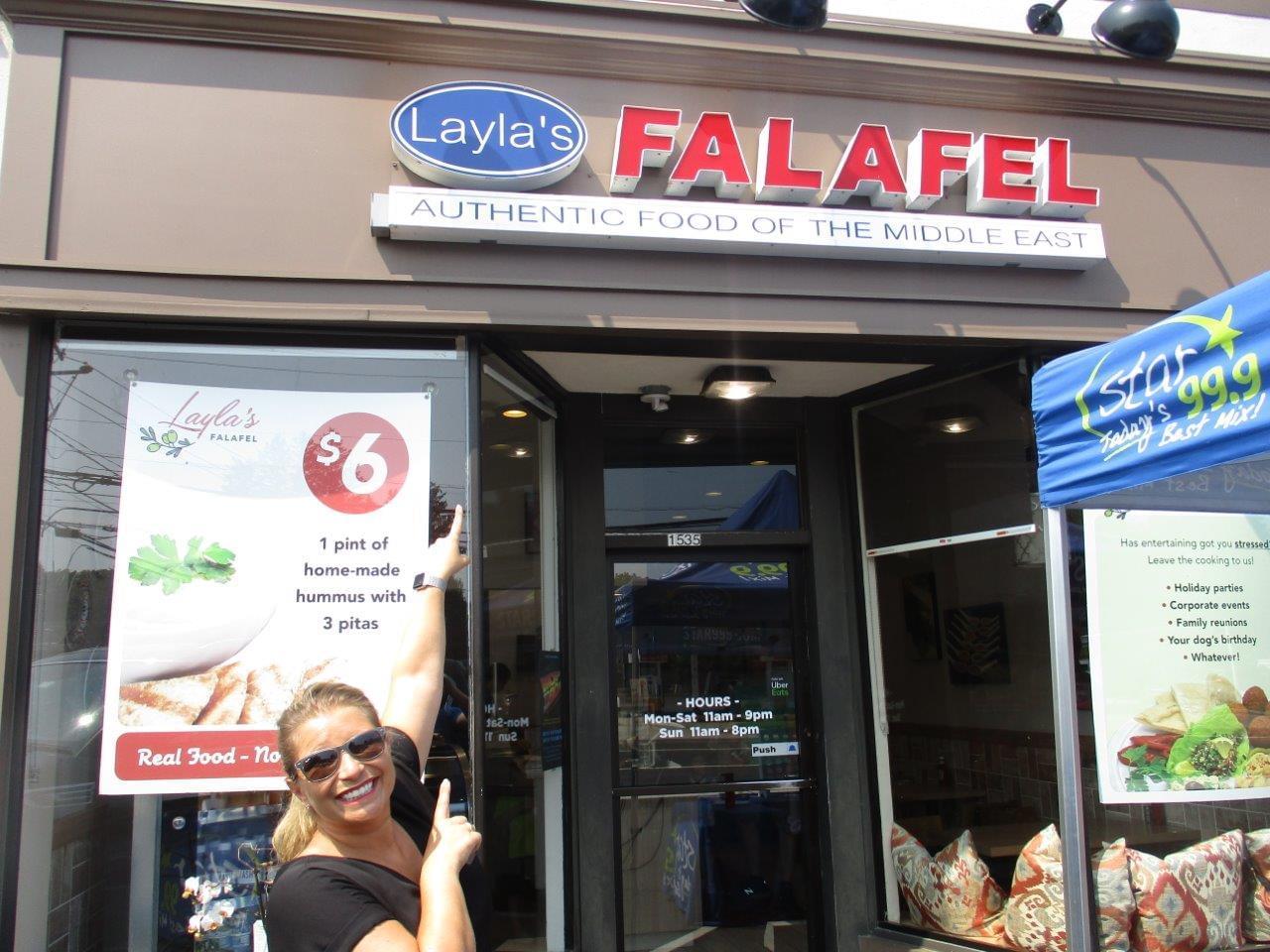 Layala's Falafel 7/27/19
