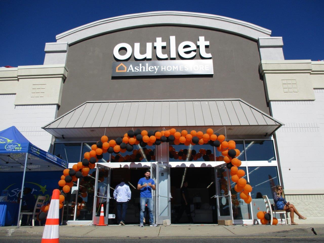 Ashley Homestore Outlet Grand Opening 9/27/19