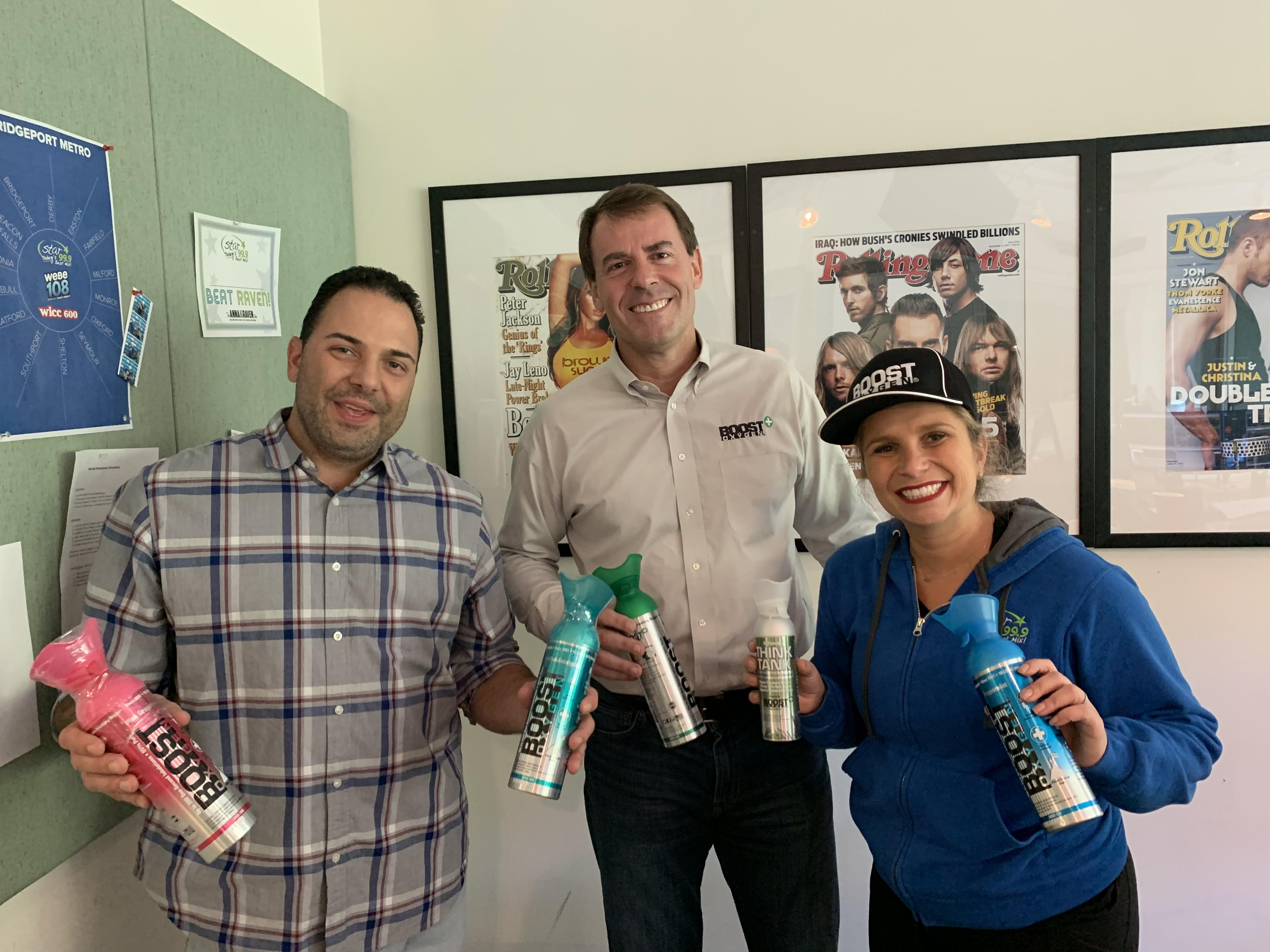 60 Seconds Behind the Scenes- Rob Neuner from Boost Oxygen!